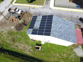 SOLAR PANELS ADDED TO THE MAINTENANCE BUILDING